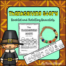 thanksgiving story with retelling bracelets by marta almiron tpt