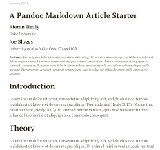 how to write a bibliography for a paper plain text papers pandoc html output from pandoc