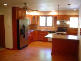 L Shaped Kitchen With Island Floor Plans L Shaped Kitchen Floor Plans Wood Floors