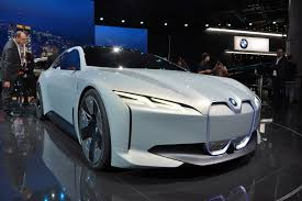 bmw i vision dynamics concept could be tesla u0027s worst nightmare