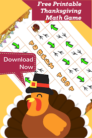 thanksgiving math with even turkey trot logicroots