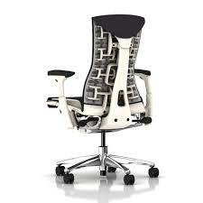 Office Furniture Herman Miller by Herman Miller Embody Chair Carbon Balance With White Frame And