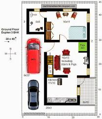 South Facing House Floor Plans Download 30 X 45 Duplex House Plans East Facing Adhome