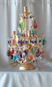 Glass Fruit Chandelier by