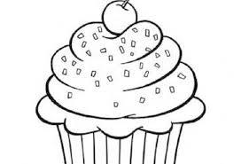 print u0026 download cartoon cupcake coloring