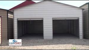 steel buildings 24 u0027 x 26 u0027 steel garage building by carport