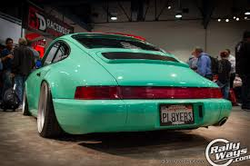 rotiform porsche 964 pre sema 2014 sema show throwback rallyways