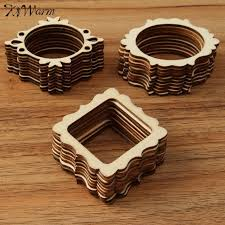aliexpress buy 30pcs set unfinished frame carved wooden