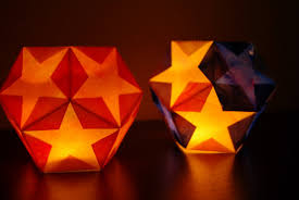 dodecahedron star lantern tutorial happiness is homemade