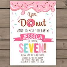 you donut want to miss this party donut birthday party