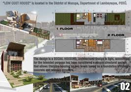 Low Cost House by Low Cost House Design Master Scholarships U2013 Spd Scuola