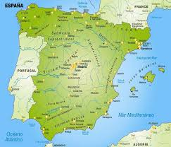 maps of spain maps of spain
