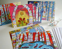 inspirational card deck and new whimsical greeting cards by