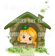 leprechaun house clipart collection