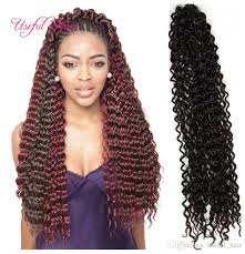 latch hook hair pictures 18inch freetress hair water wave blonde extensions black brown