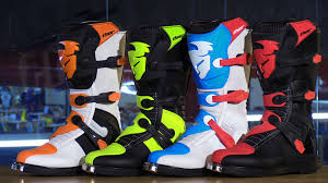 dirt bike racing boots thor blitz mx motorcycle boots review youtube