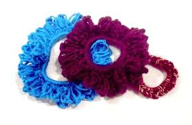 crochet bands modern crafty girl how to crochet great hair ties using rubber bands