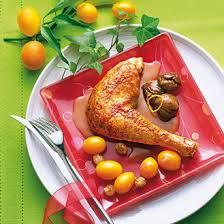 idee recette cuisine pintade dorée aux marrons et kumquat magazine avantages