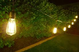 amazing outdoor string globe lights new lighting outdoor string