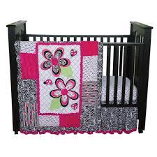 Zebra Print Baby Bedding Crib Sets Trend Lab 3 Crib Bedding Set Zahara Crib