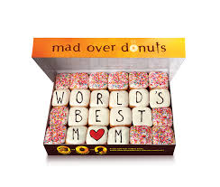 Personalized Donut Boxes Mad Over Donuts Box Of Happiness For Mom This Mothers Day