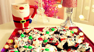 diy christmas treats christmas cookie bark youtube