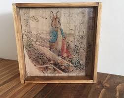 rabbit home decor rabbit home decor etsy