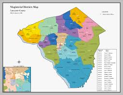 Pennsylvania District Map by Our Campaigns United States Pennsylvania Counties