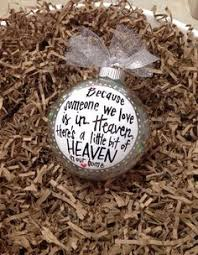 memorial gift ornament wish you were here merry