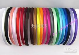 wholesale headbands new satin headbands children hairbands hair band fs 15 baby