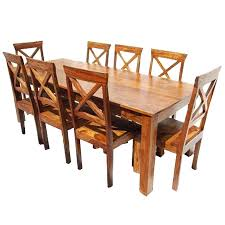 cheap wood dining table solid wood dining set large rustic solid wood dining table chair set