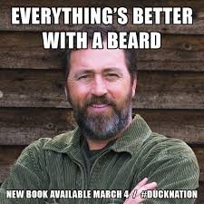 Duck Dynasty Birthday Meme - al robertson on twitter a bearded al only for duck season but