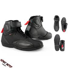 black leather motorcycle boots motorcycle boots sports motorbike shoes sport leather black a pro