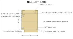 Standard Height For Cabinets Standard Base Cabinet Drawer Dimensions Centerfordemocracy Org