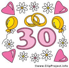 30 hochzeitstag spr che ehejubiläen bilder cliparts gifs illustrationen grafiken kostenlos