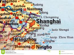 Shanghai Map Shanghai On The Map Royalty Free Stock Photography Image 11582947