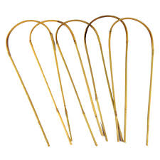 bamboo stakes 16 in bamboo u trellis hoop stakes 5 pack