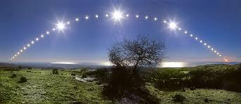 apod 2007 december 22 tyrrhenian sea and solstice sky