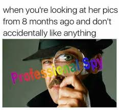 Spy Meme - dopl3r com memes when youre looking at her pics from 8 months