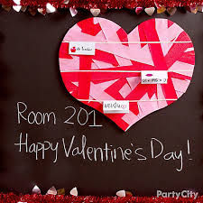Decorations For A Valentine S Day Party by Diy Heart Ribbon Bulletin Board Idea Valentines Day Class Party