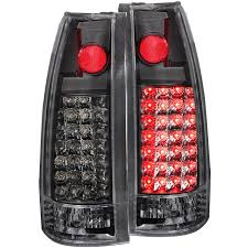 amazon com anzo usa 311006 chevrolet black led tail light