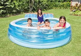 Intex Inflatable Swimming Pool Swim Center Family Lounge Pool Intex