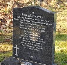 gravestone sayings headstones gravestones by tec
