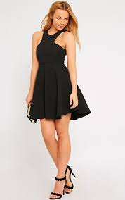 pretty thing dresses skater dress endource