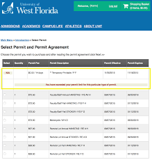 how to print your free 14 day temporary parking permit uwf
