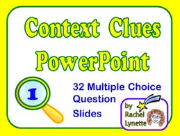context clues 2 lessons tes teach