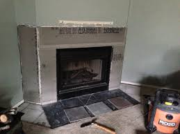 phase i of fireplace project complete my crazy diy adventures