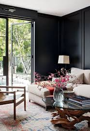 room with black walls don t be afraid of the dark 12 black walls done right brit co