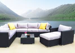industrial patio furniture modern outdoor furniture set sectional kb furnishings modern