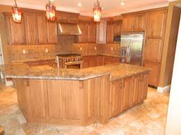 kitchen flooring ideas with oak cabinets
